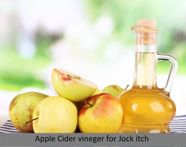Jock itch_apple cider vineger