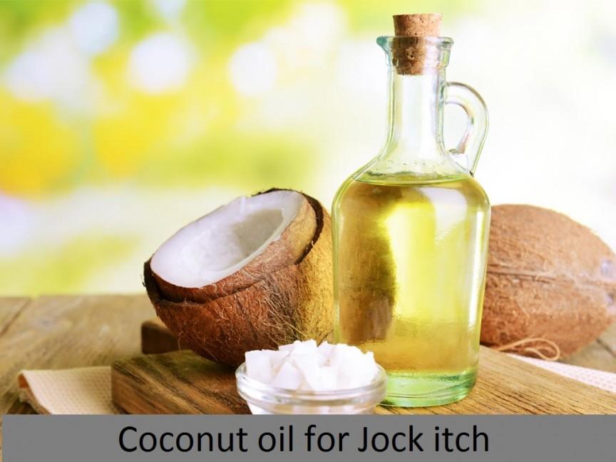 Jock itch_coconut oil